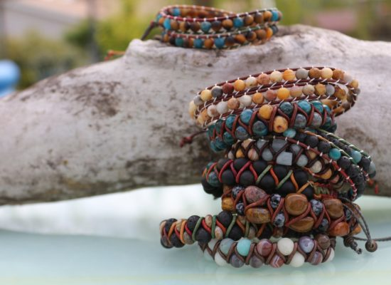 De la terre à la main, bijoux zen et perles de pierres fines