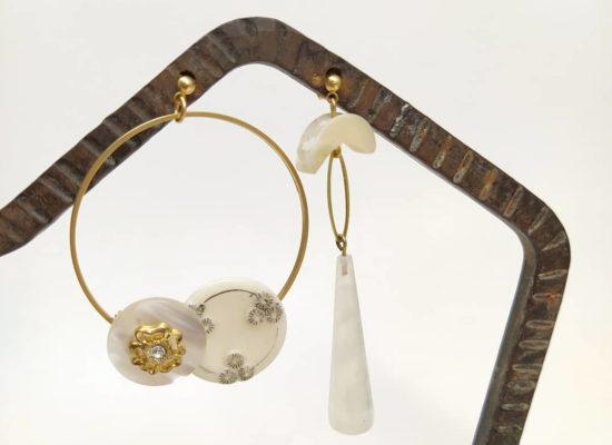 Laborantique, bijoux recyclés