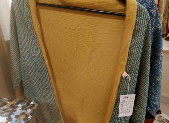 Le fil roux, veste modulable