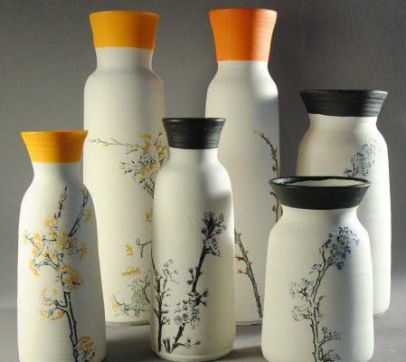 Atelier Terres d'Angely, artisan céramiste, travail de la porcelaine