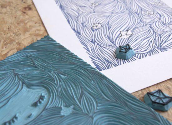 Marine Mastin Design, sérigraphie