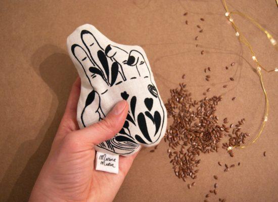 Marine Mastin Design, objets et textiles sérigraphiés