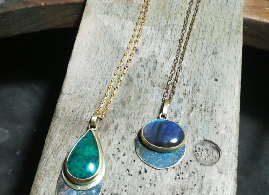 Méloumoi, bijoux laiton et autre matériaux naturels